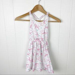 Tommy Bahama•Unicorn print girls dress size 5